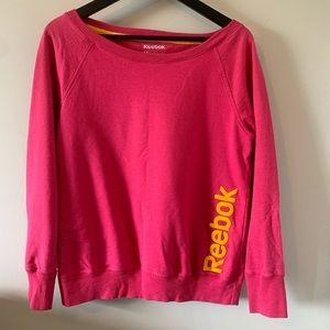 2/$18 Reebok / Wide Neck / Sweatshirt
